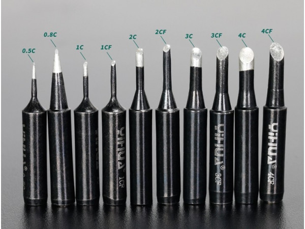 Black Soldering Tips- Slanted type