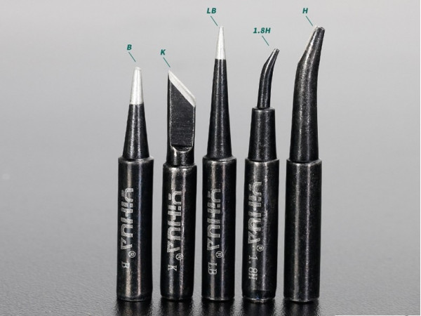 Black Soldering Tips- H, K and B types