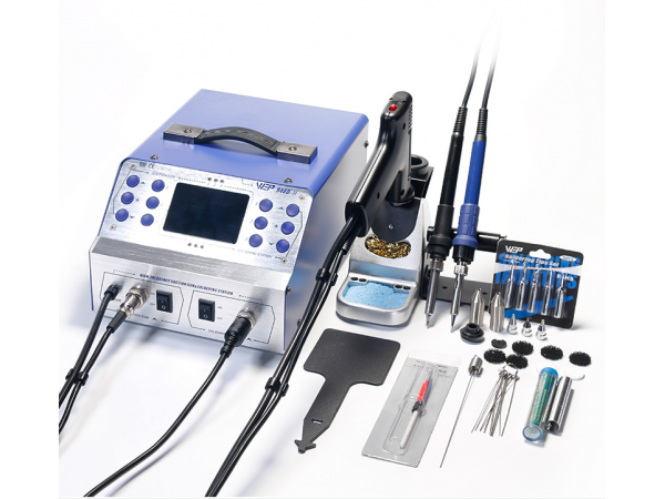948D II Dedoldering Pump and Soldering Station 190W 3in1