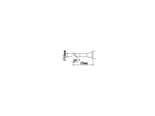 900H-T-3C soldering tip for eddy current station 900H