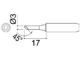 900M-T-3C Soldering Tip