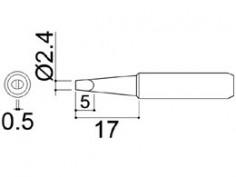 900M-T-2.4D Soldering Tip