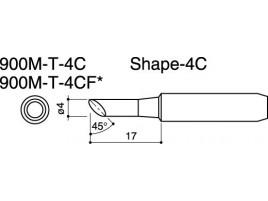 900M-T-4C Soldering Tip