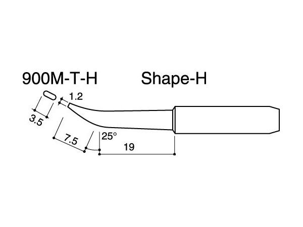 900M-T-H Soldering Tip