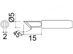 900M-T-K Soldering Tip