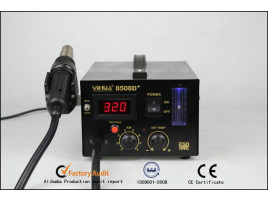 8508D+ Hot Air Rework Station