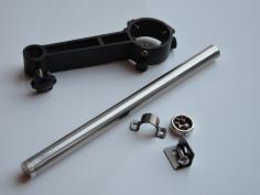 Hot air handle bracket