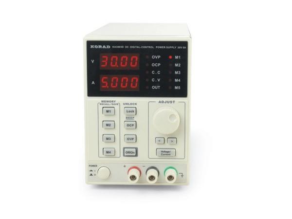KA3005D Digitally Controlled 30V/5A Power Supply