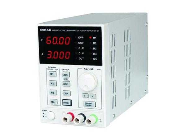 KA6003P Digitally Controlled 60V/3A Power Supply, RS232/USB