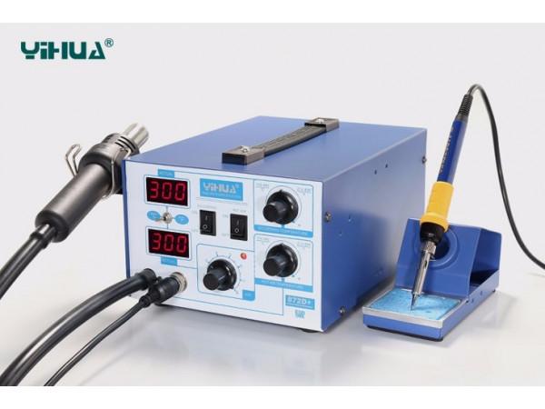 YIHUA 872D+ Rework station with powerful diaphragm pump