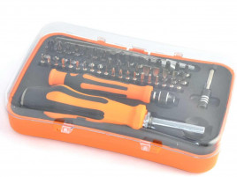 Mini screwdriver tool kit set, 58pc with tweezers